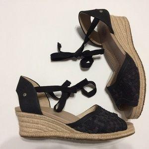 UGG Australia 'Delmar' Espardrille Sandals